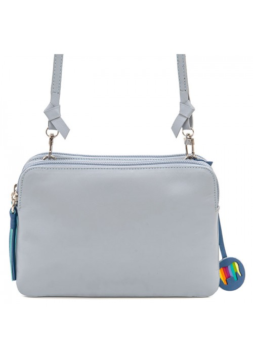 Bruges Double Zip Cross Body