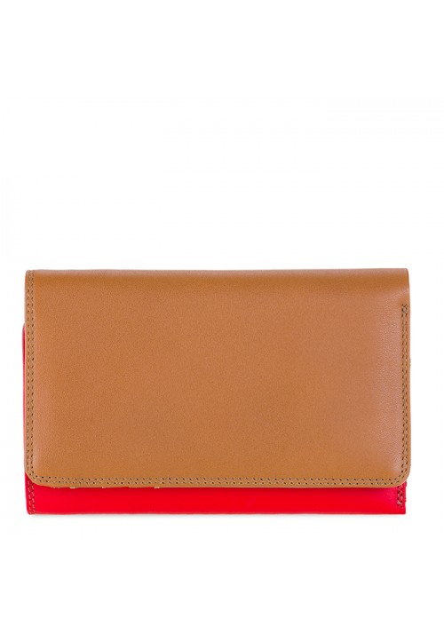 Medium Tri-fold Wallet/Outer Zip Purse